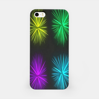 Thumbnail image of Colorful fireworks on black iPhone Case, Live Heroes
