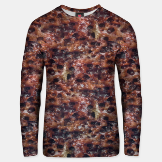 Warm Abstract Surface Print Unisex sweater thumbnail image