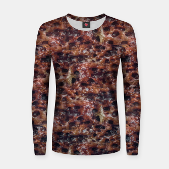 Warm Abstract Surface Print Women sweater thumbnail image