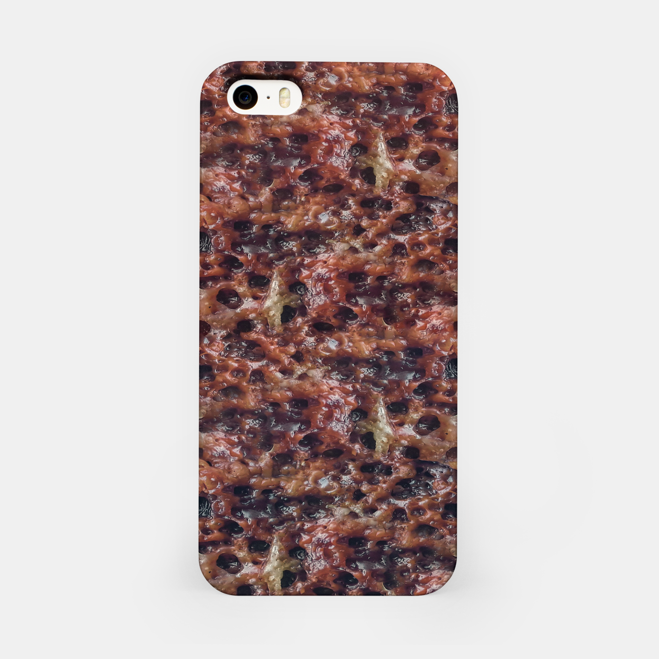 Image of Warm Abstract Surface Print iPhone Case - Live Heroes