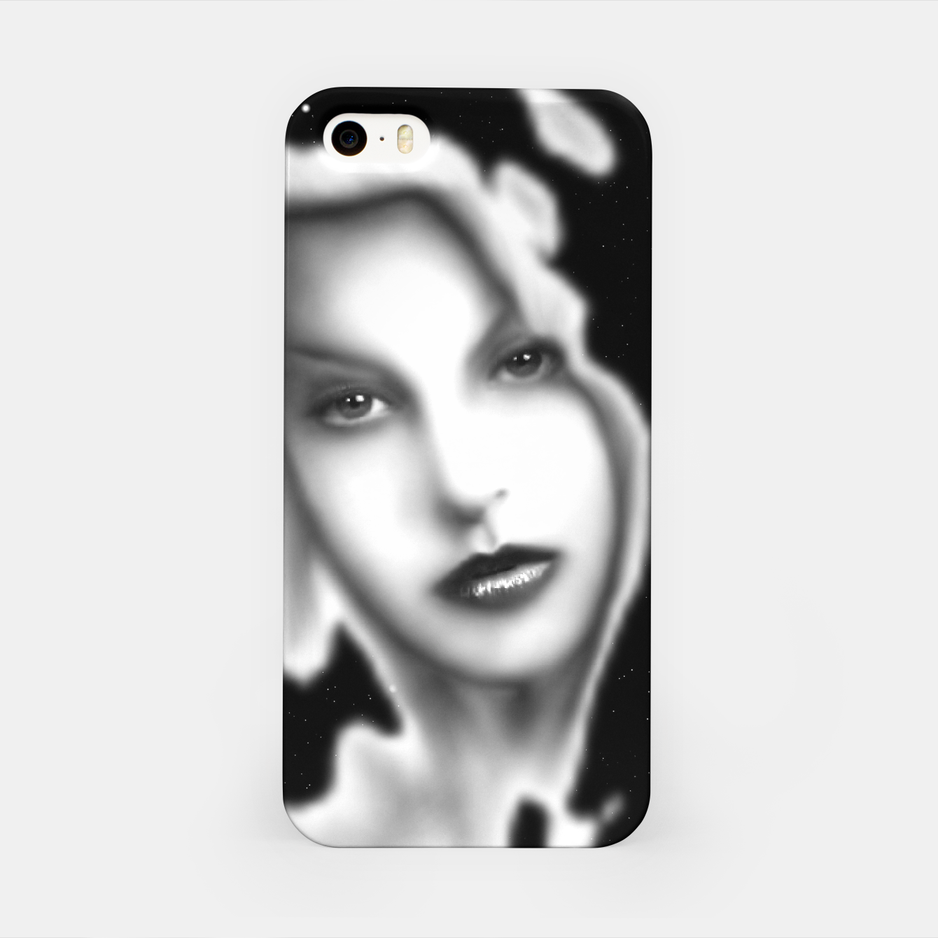 Image de How Could You Space Float Digital Art iPhone Case - Live Heroes