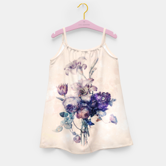 Floral Challenges Girl's dress thumbnail image