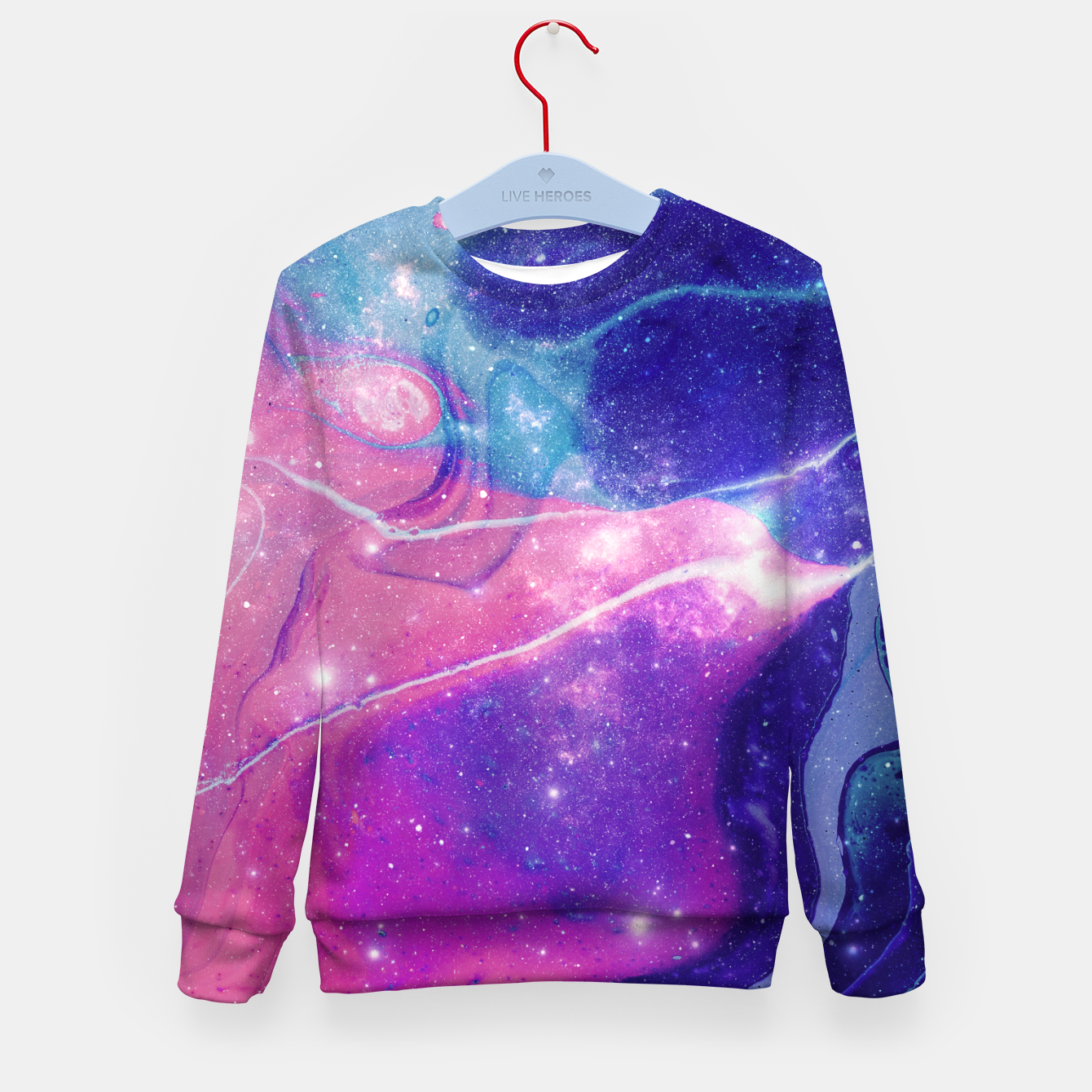 Image of Stardance Kid's sweater - Live Heroes