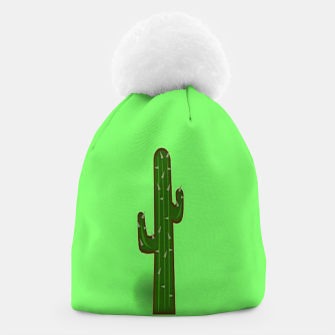 Thumbnail image of Green cactus Beanie, Live Heroes