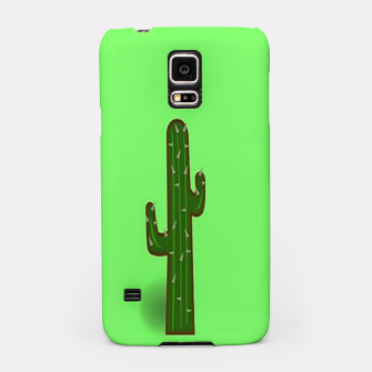 Thumbnail image of Green cactus Samsung Case, Live Heroes