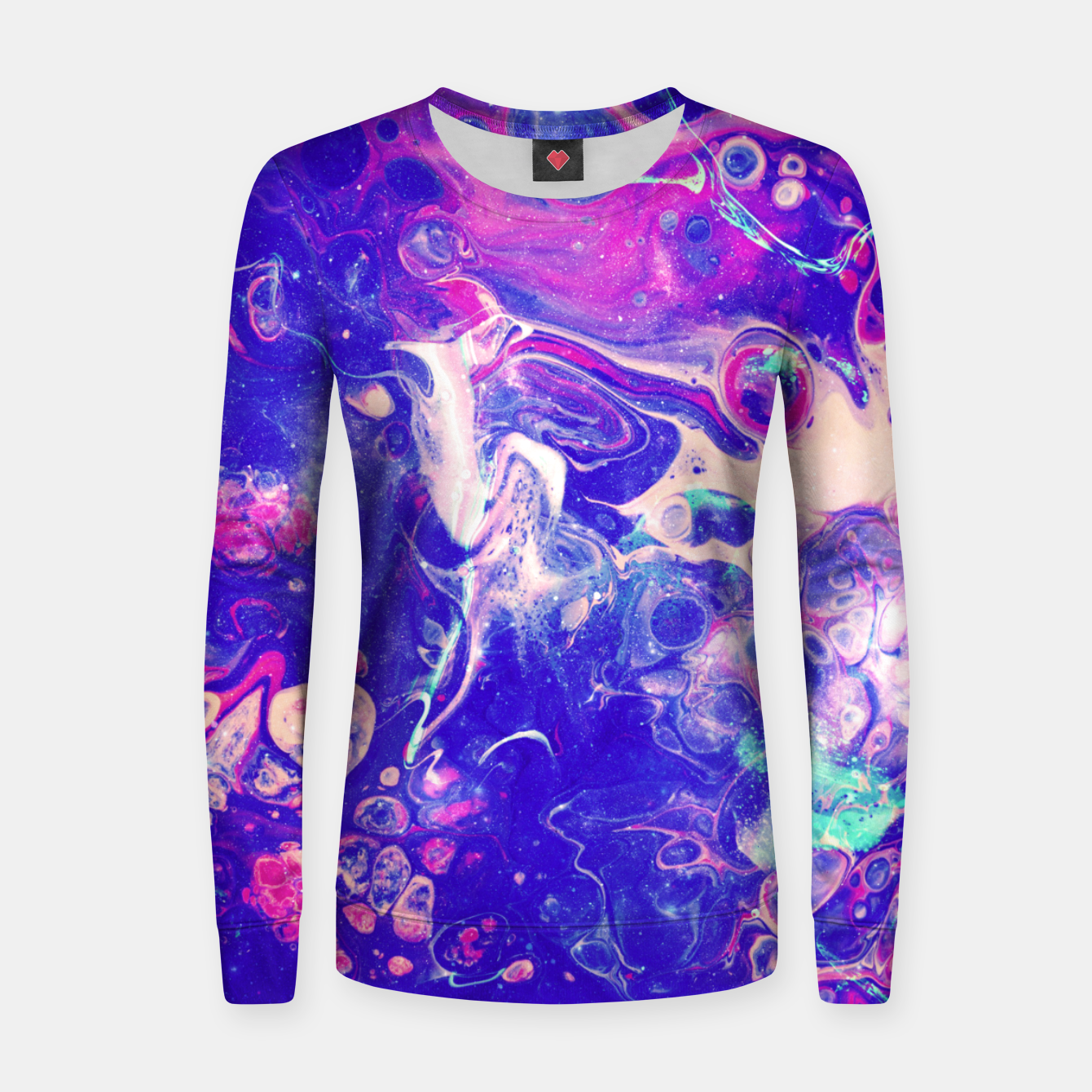 Image of Galaxy Makers Women sweater - Live Heroes