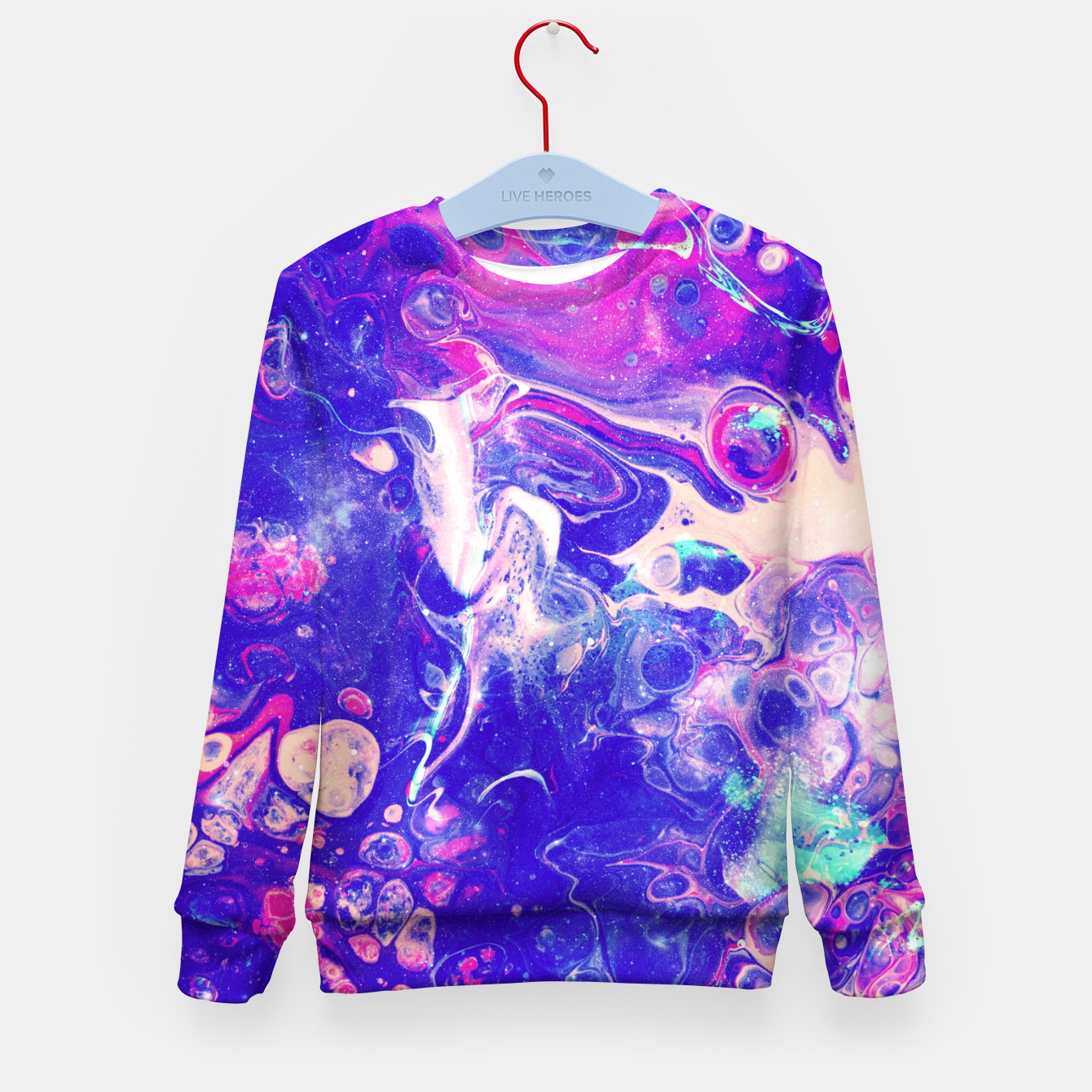 Image of Galaxy Makers Kid's sweater - Live Heroes