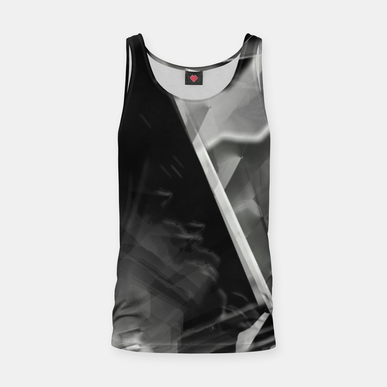 Image of Silver glass Tank Top - Live Heroes