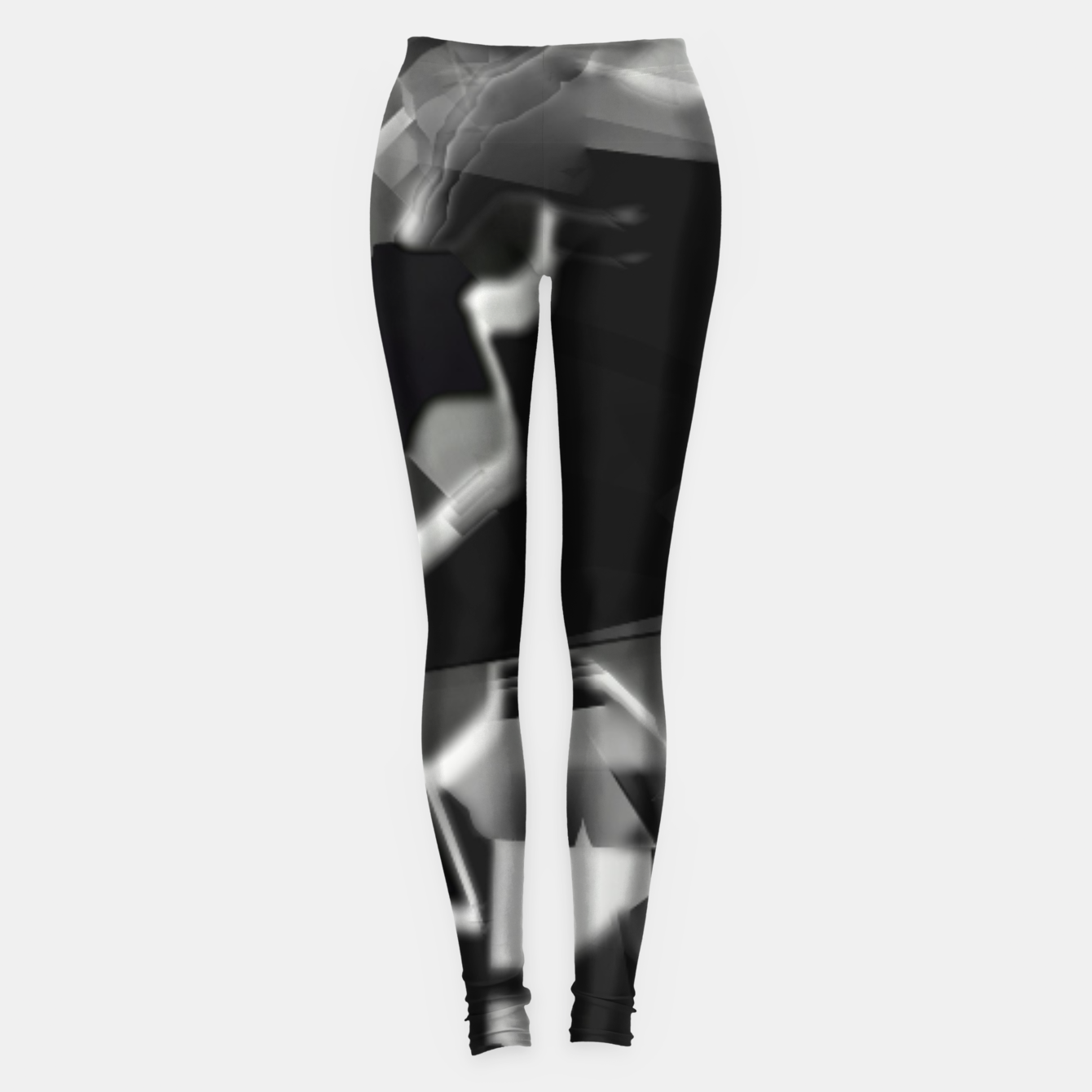 Image of Silver glass Legginsy - Live Heroes