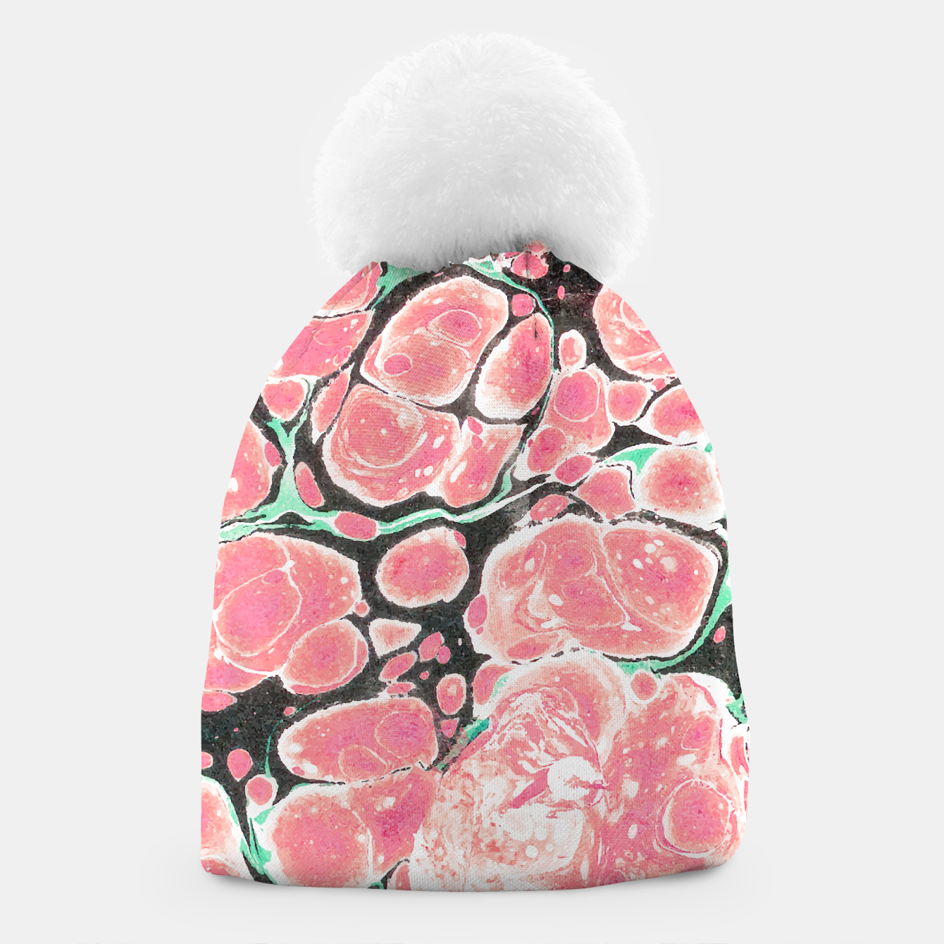 Image of Deliciously Marble  Beanie - Live Heroes