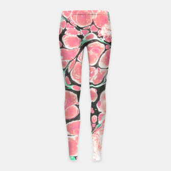 Miniaturka Deliciously Marble  Girl's leggings, Live Heroes