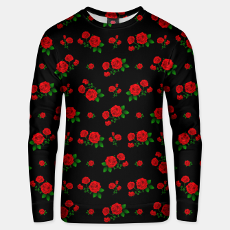 Thumbnail image of Red Roses Unisex sweater, Live Heroes