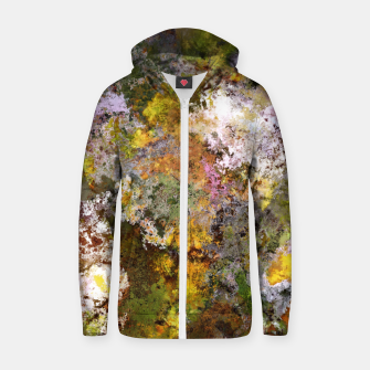Thumbnail image of Boulders grit and stone Zip up hoodie, Live Heroes
