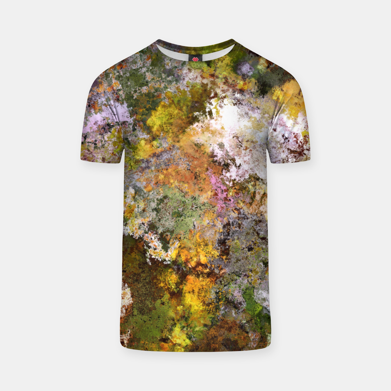 Image of Boulders grit and stone T-shirt - Live Heroes