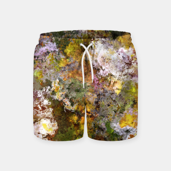 Thumbnail image of Boulders grit and stone Swim Shorts, Live Heroes