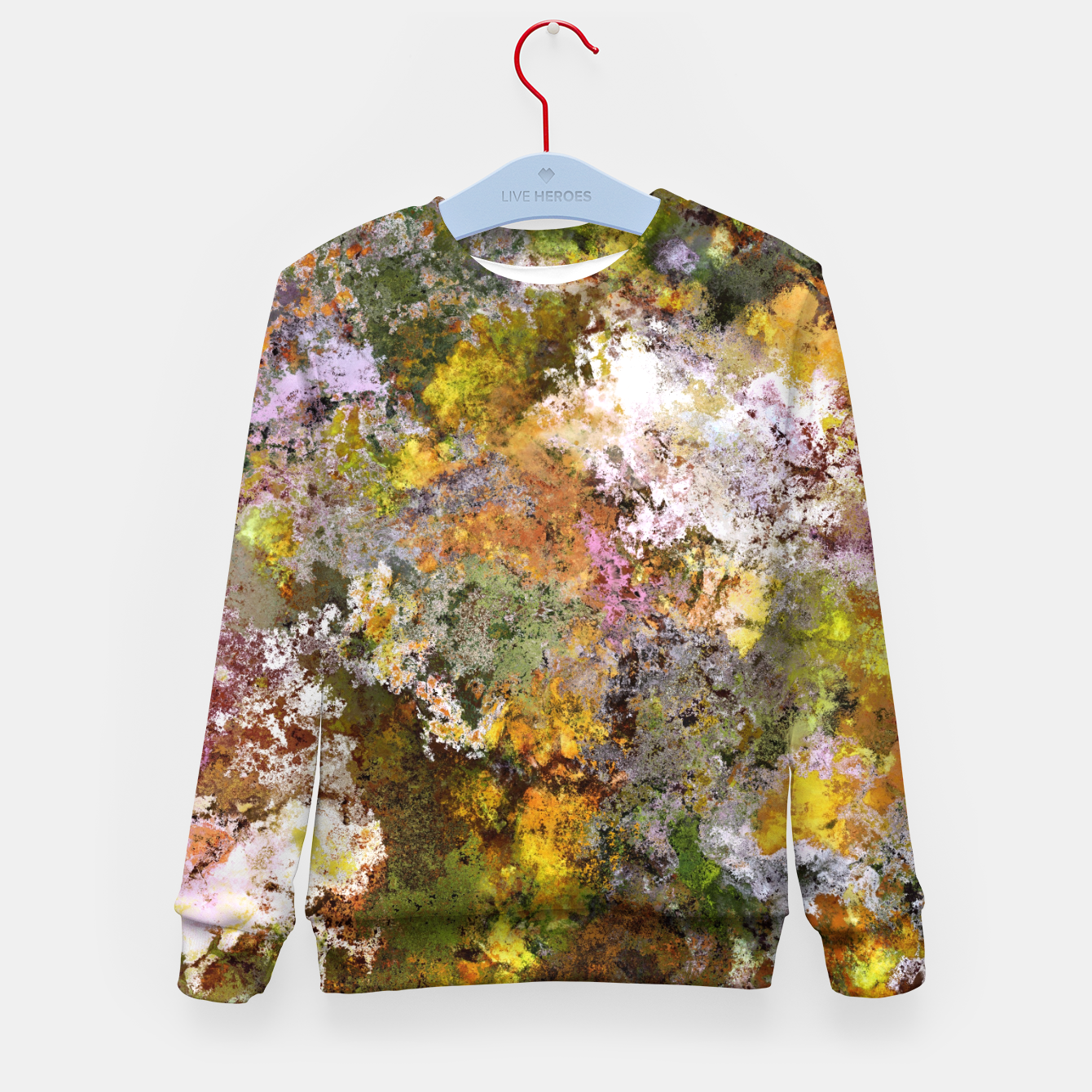 Image of Boulders grit and stone Kid's sweater - Live Heroes