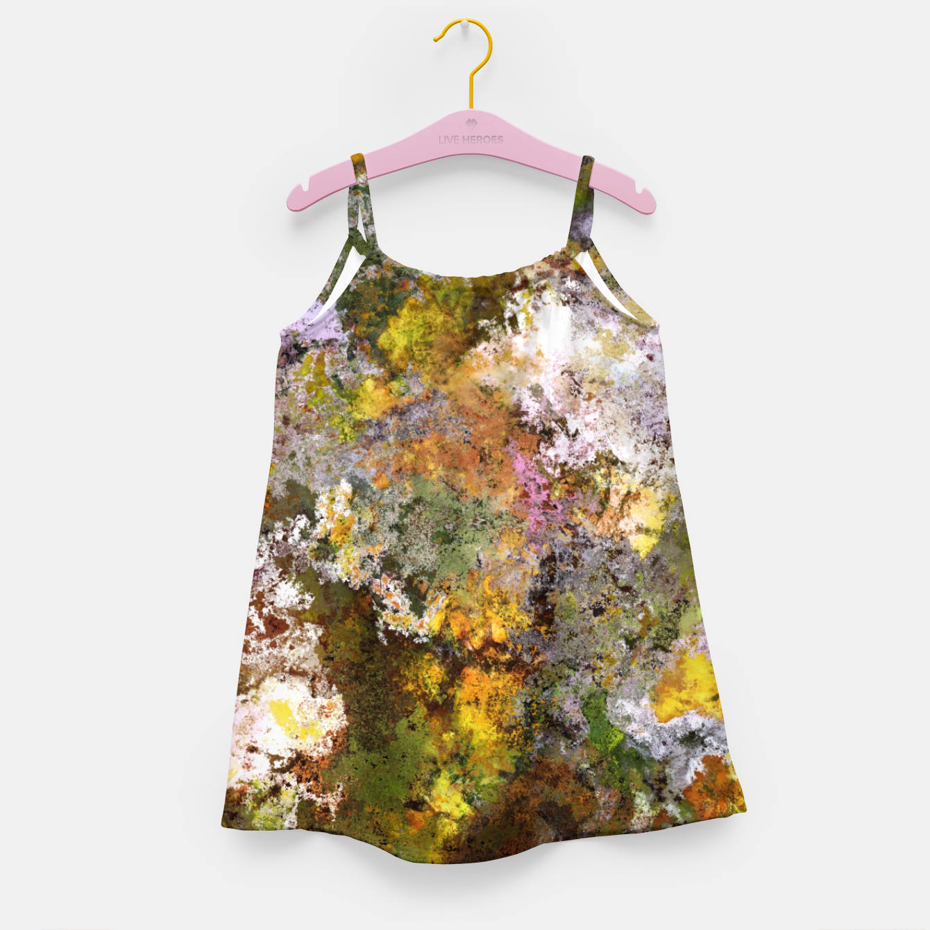 Image of Boulders grit and stone Girl's dress - Live Heroes