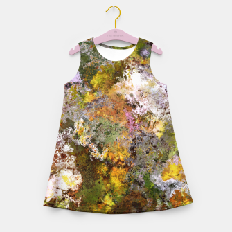 Thumbnail image of Boulders grit and stone Girl's summer dress, Live Heroes