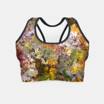 Thumbnail image of Boulders grit and stone Crop Top, Live Heroes