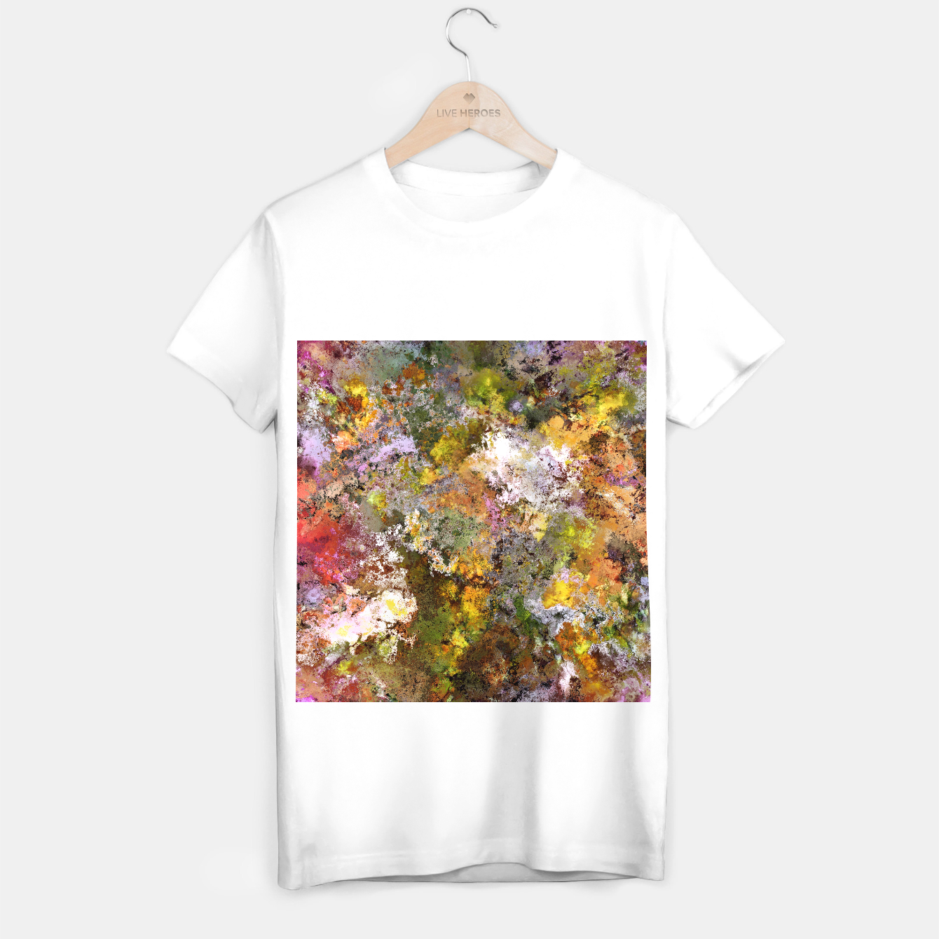 Image of Boulders grit and stone T-shirt regular - Live Heroes