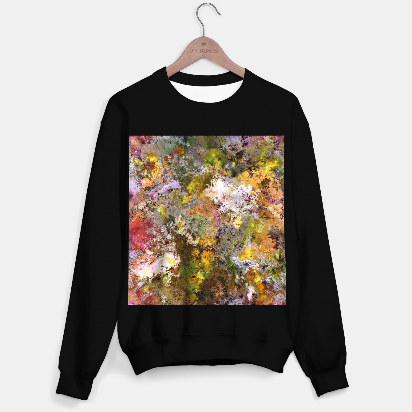 Image of Boulders grit and stone Sweater regular - Live Heroes