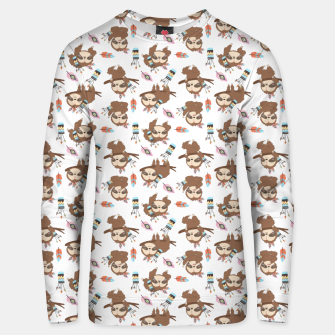 Thumbnail image of sloth Unisex sweater, Live Heroes