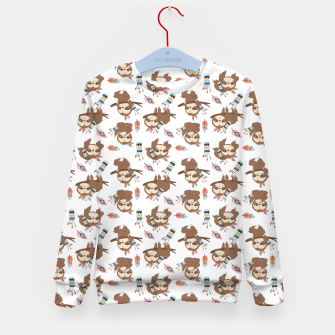 Thumbnail image of sloth Kid's sweater, Live Heroes