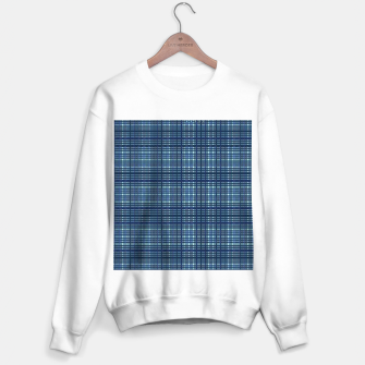 Thumbnail image of Blue plaid Sweater regular, Live Heroes