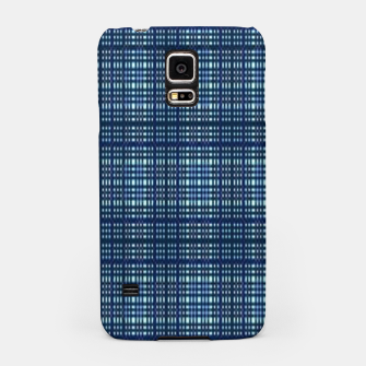 Thumbnail image of Blue plaid Samsung Case, Live Heroes