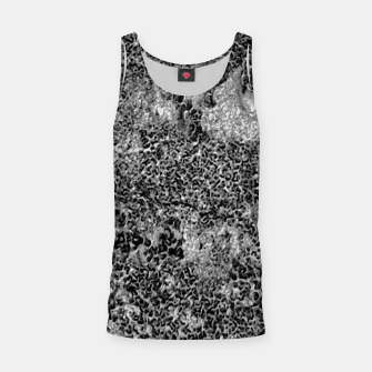 Miniaturka Grey and White Grunge Camouflage Print Tank Top, Live Heroes