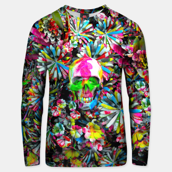 Thumbnail image of Colored Skull Unisex sweater, Live Heroes
