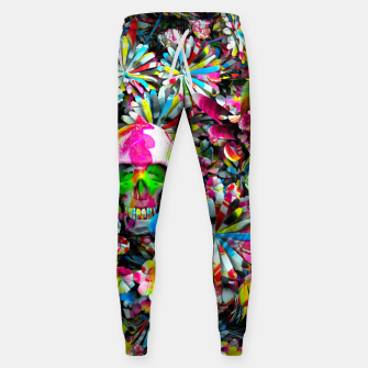 Thumbnail image of Colored Skull Sweatpants, Live Heroes