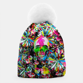 Thumbnail image of Colored Skull Beanie, Live Heroes