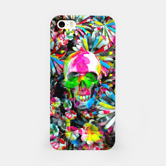 Thumbnail image of Colored Skull iPhone Case, Live Heroes