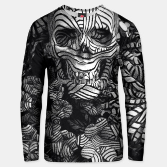 Thumbnail image of Engraves Skull Unisex sweater, Live Heroes