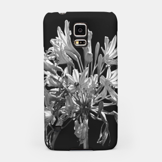Thumbnail image of Black and White Lilies Botany Motif Print Samsung Case, Live Heroes