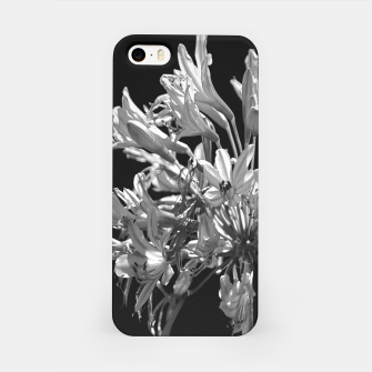Thumbnail image of Black and White Lilies Botany Motif Print iPhone Case, Live Heroes