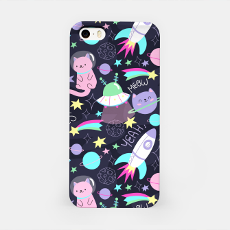 Thumbnail image of Alien Kitty iPhone Case, Live Heroes