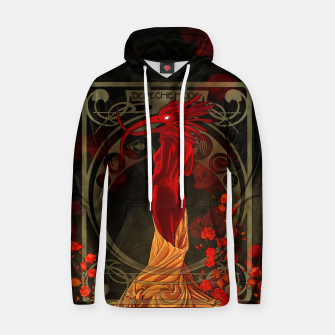 Thumbnail image of My Walking In My Shoes Girl 5 Art Nouveau Hoodie, Live Heroes