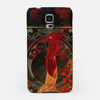 Thumbnail image of My Walking In My Shoes Girl 5 Art Nouveau Samsung Case, Live Heroes