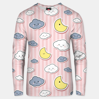 Thumbnail image of Moon & Cloud Unisex sweater, Live Heroes