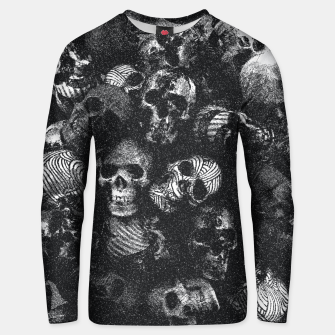 Thumbnail image of Dotted Skulls Unisex sweater, Live Heroes