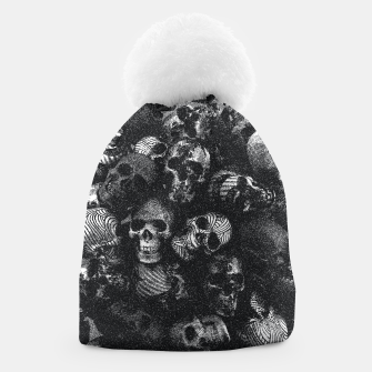 Thumbnail image of Dotted Skulls Beanie, Live Heroes