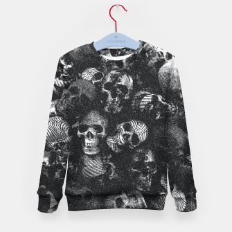 Thumbnail image of Dotted Skulls Kid's sweater, Live Heroes