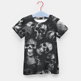 Thumbnail image of Dotted Skulls Kid's t-shirt, Live Heroes