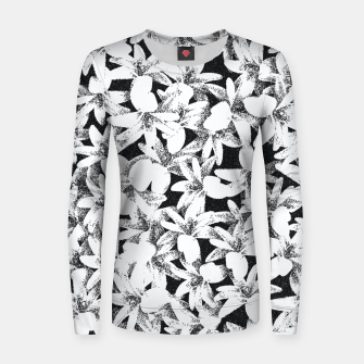 Dotted Flowers Women sweater thumbnail image