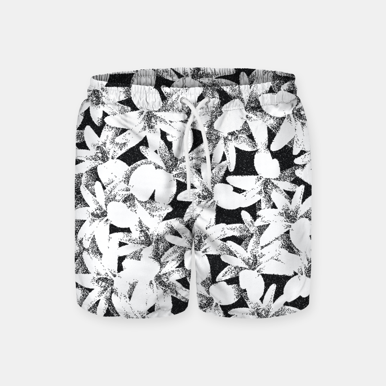 Image of Dotted Flowers Swim Shorts - Live Heroes