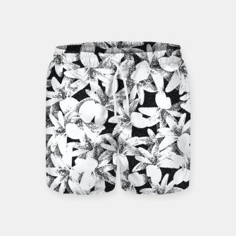 Thumbnail image of Dotted Flowers Swim Shorts, Live Heroes