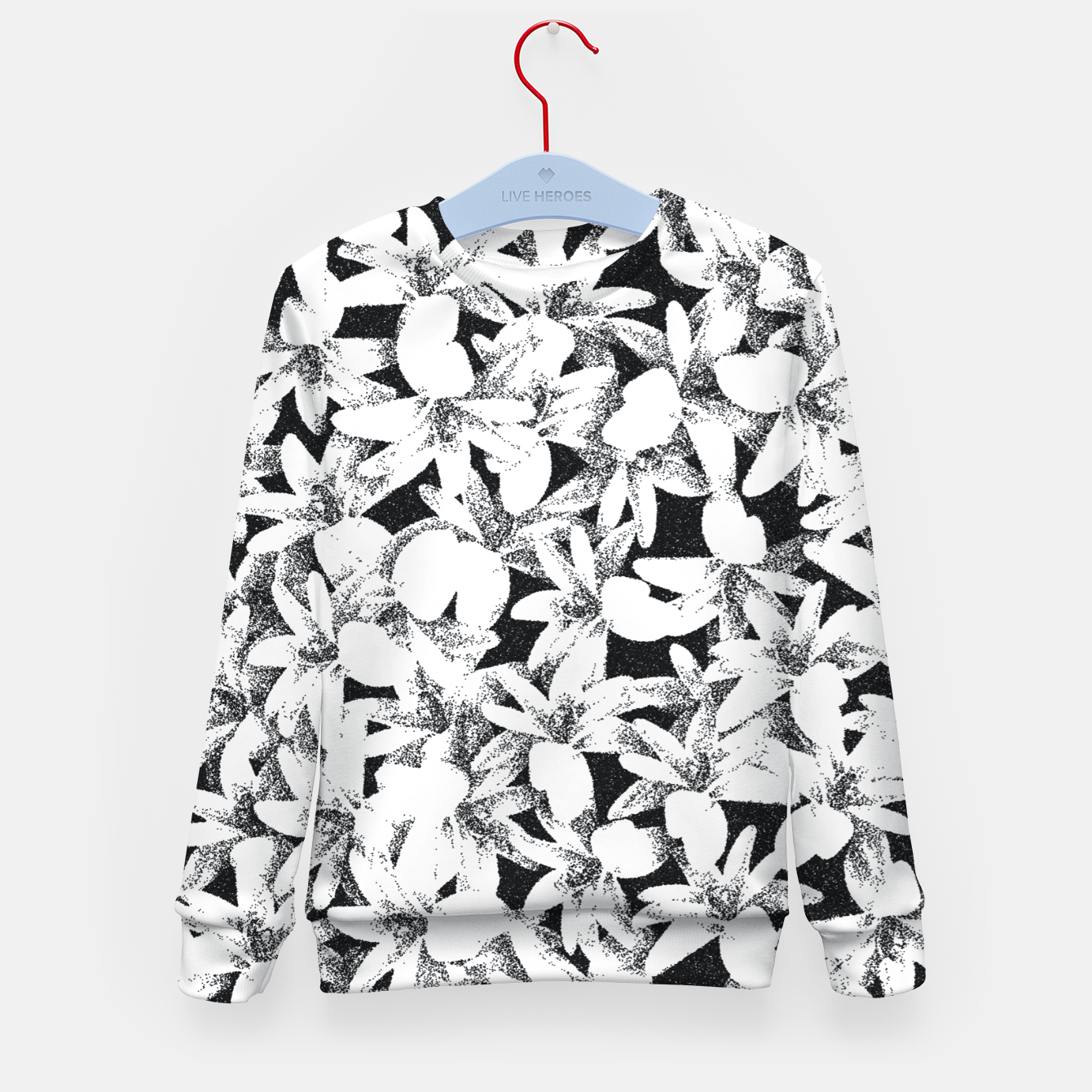 Image of Dotted Flowers Kid's sweater - Live Heroes
