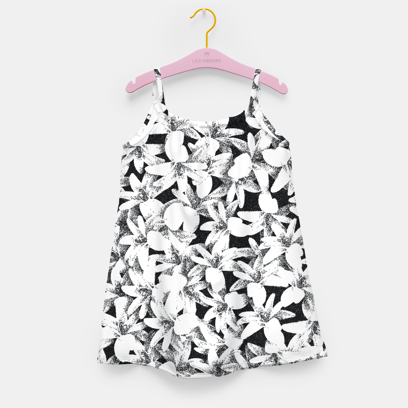 Image of Dotted Flowers Girl's dress - Live Heroes